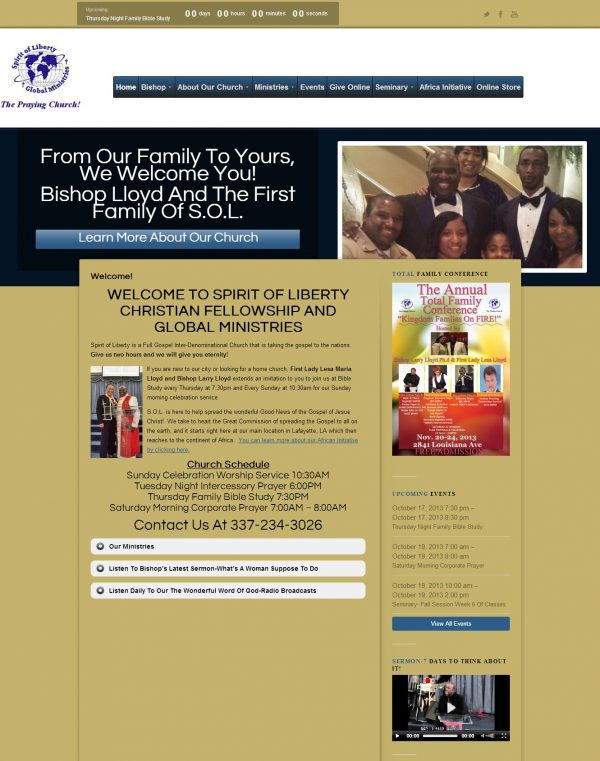 Sprit Of Liberty Global Ministries